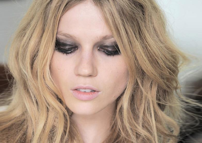 Черный цвет и стиль Glam rock