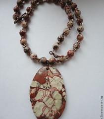 Колье из натуральных камней авторские работы фото