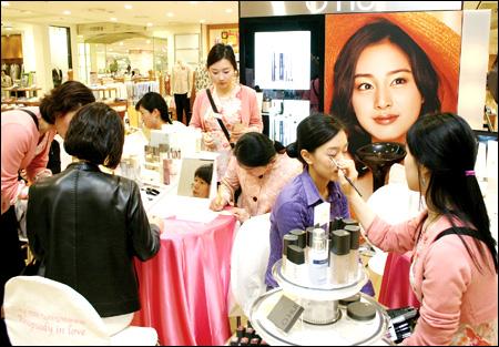 Салон красоты в Южной Корее