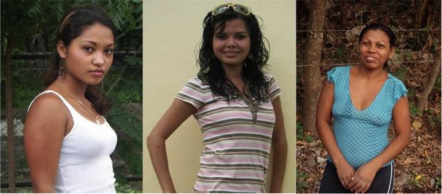 Девушки из Никарагуа