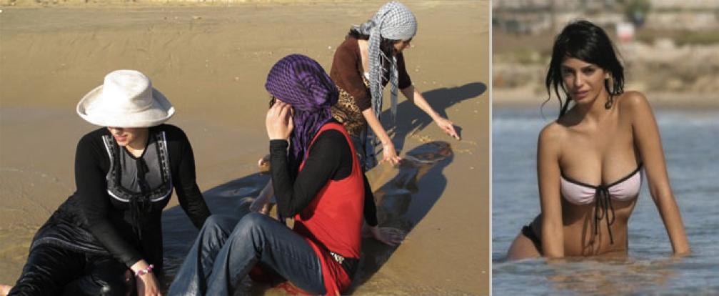 арабки на пляже смотреть 5
