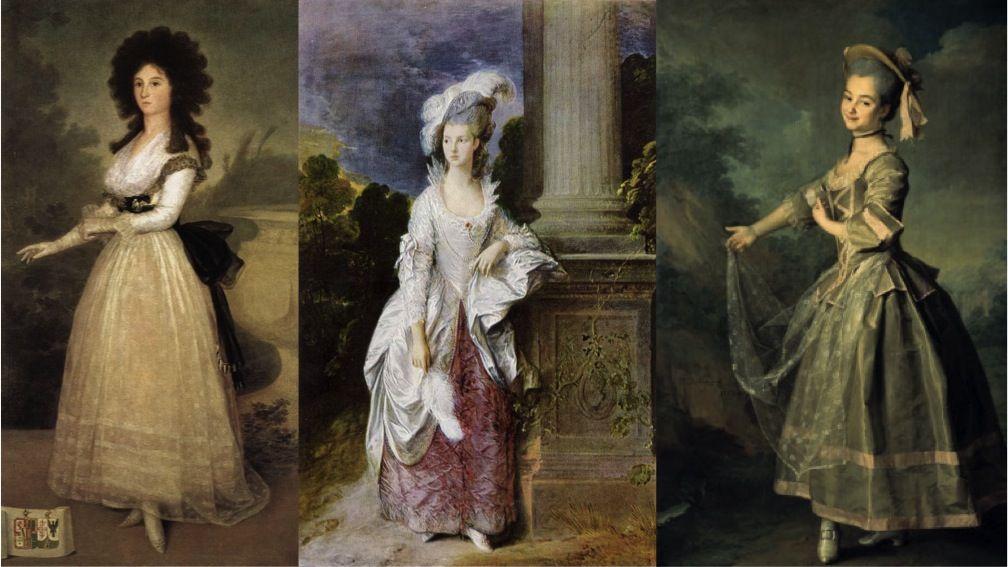 Картины женщин 18 века