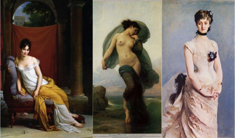 Картины женщин 19 века