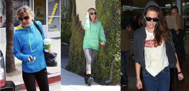 Женщины в худи, знаменитости в худи