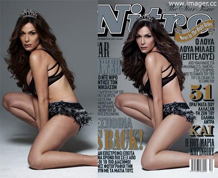 Фотошоп знаменитостей до и после