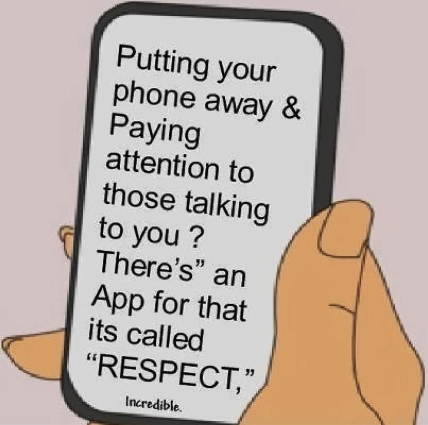 Мобильный этикет