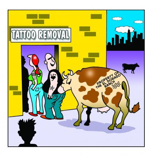Татуировка как билет в класс Chavs