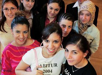 Студенты Гамбурга турчанки фото