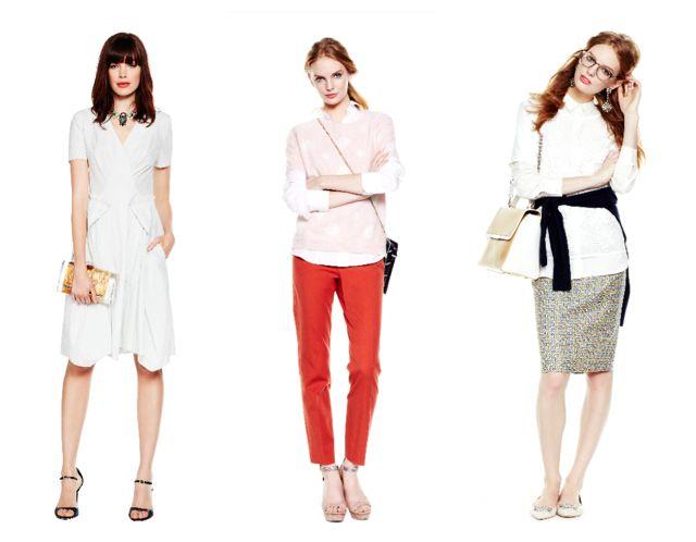 Сочетание белого в одежде