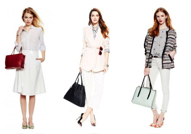 Сочетание белого с другими цветами в одежде примеры