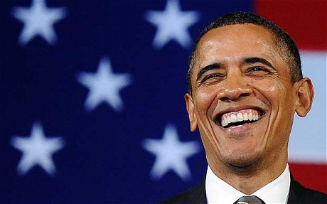 Улыбка Барака Обамы фото