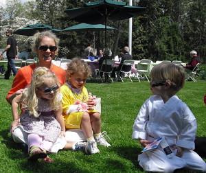 Американская многодетная семья фото