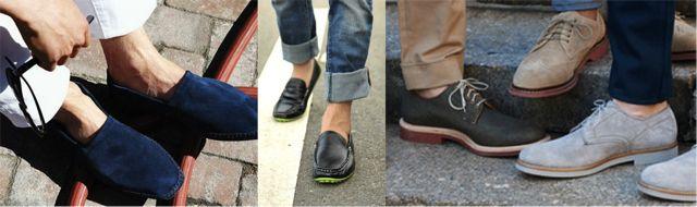 Мужская обувь без носков фото