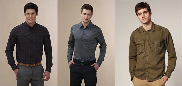 Как и с чем носить мужские рубашки фото