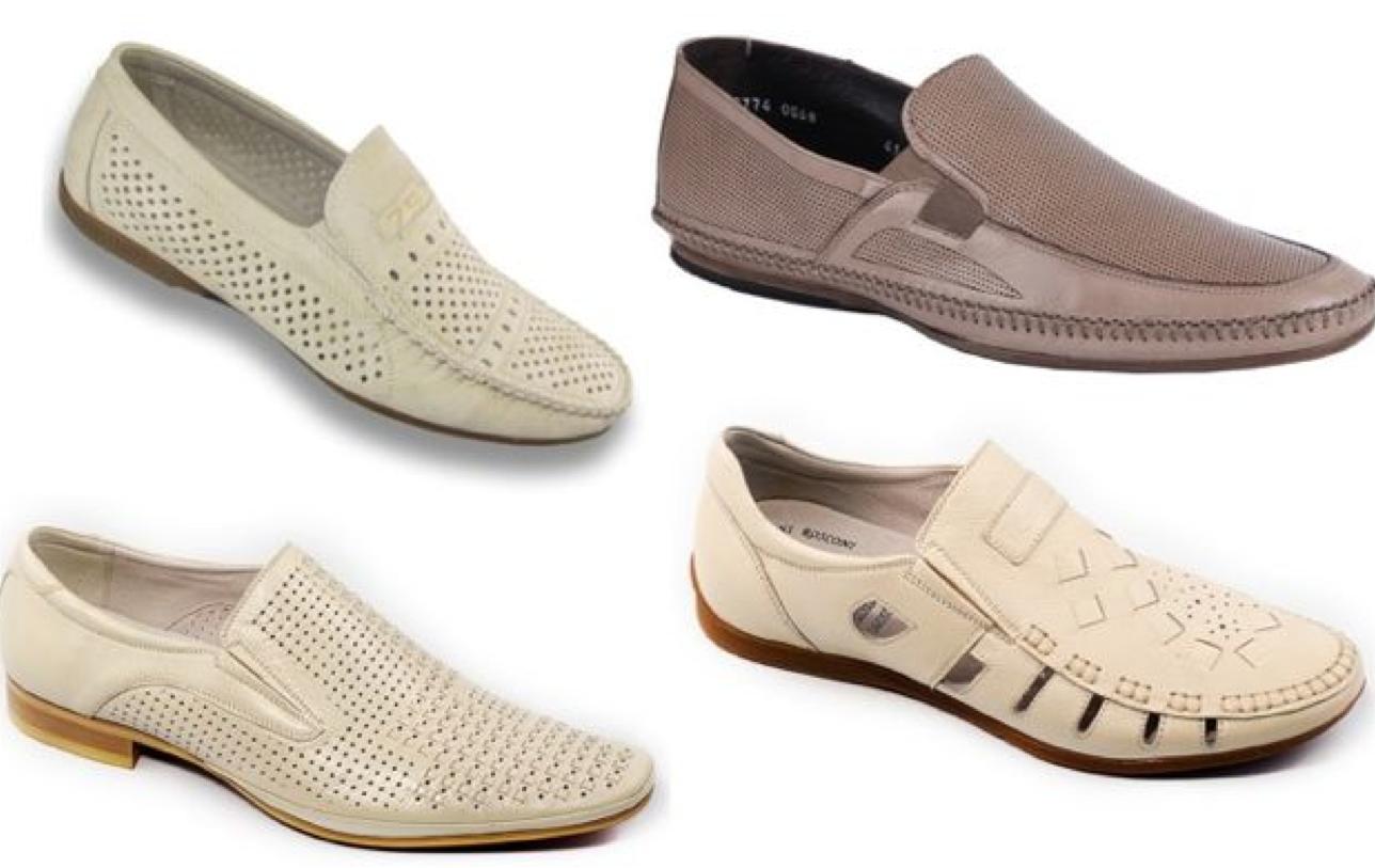 Мужская обувь с перфорацией ошибки мужского гардероба фото
