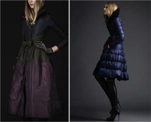 Пуховое пальто Burberry Prorsum фото