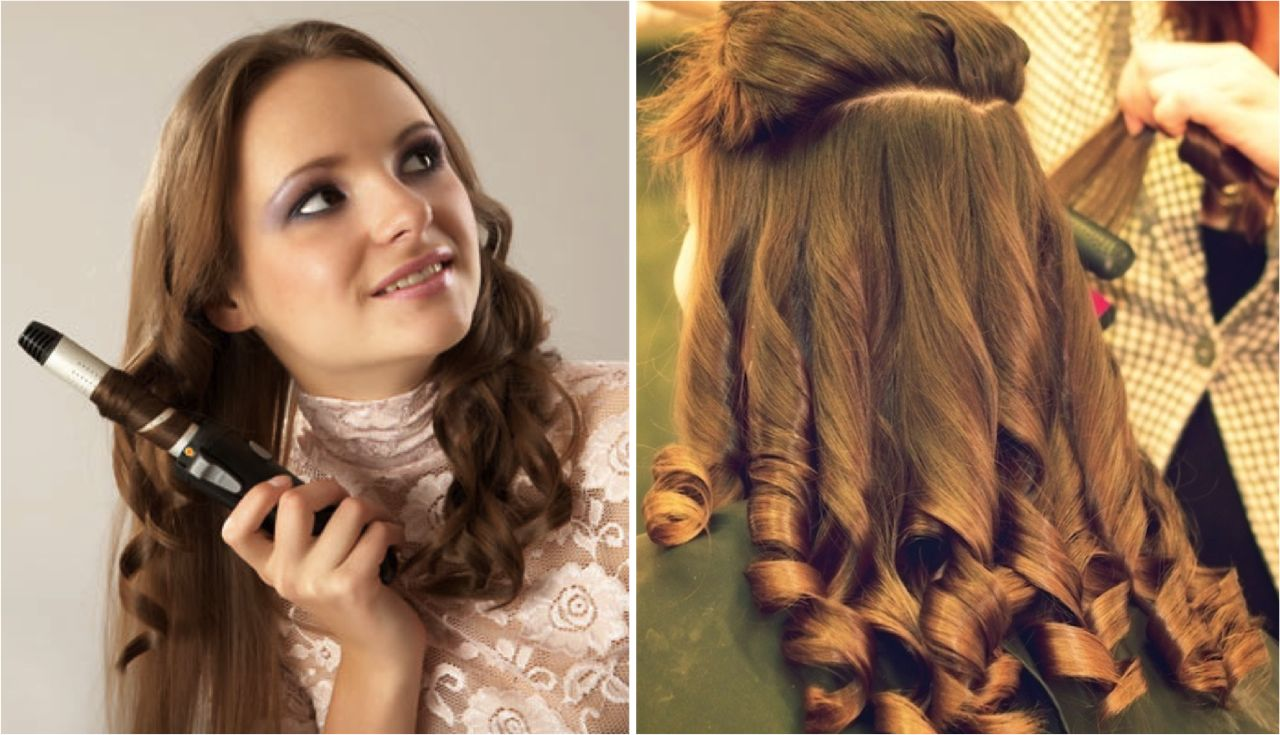 Как на дому сделать накрученные волосы