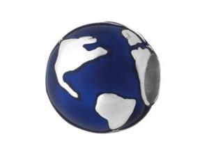 Кулон с синей эмалью фото