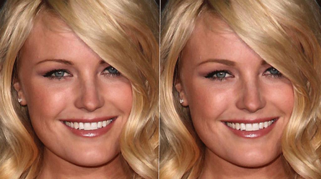 Форма бровей до и после фото