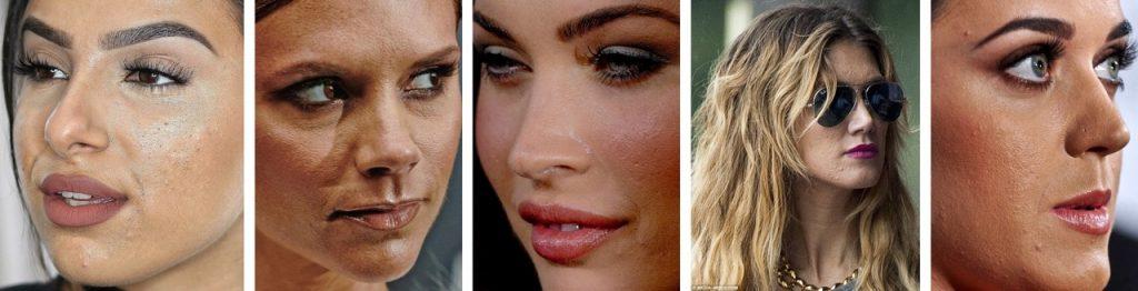 Самые неудачные макияжи звезд фото