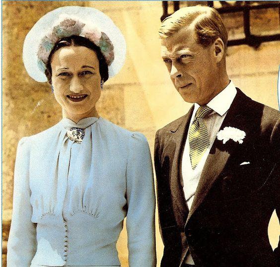 Уоллис симпсон и герцог эдуард виндзорский фото