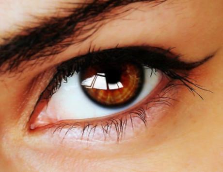 Карие глаза с лимбальным кольцом очень привлекательны
