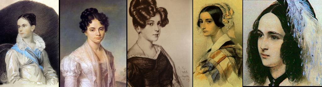 Образы любимых женщин Пушкина
