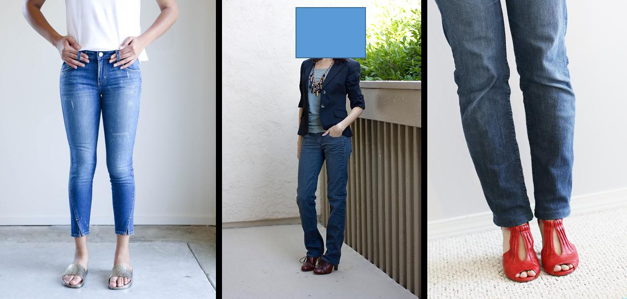 Неудачные женские джинсы