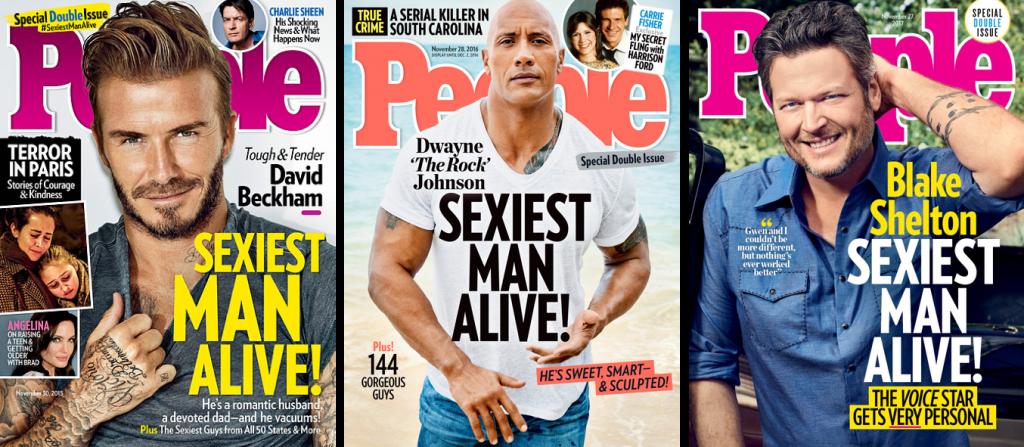 Самые красивые мужчины. Как изменились стадарты красоты в 21 веке
