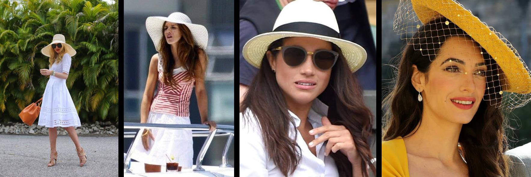 Шляпа как головной убор для королевской свадьбы или уимблдона