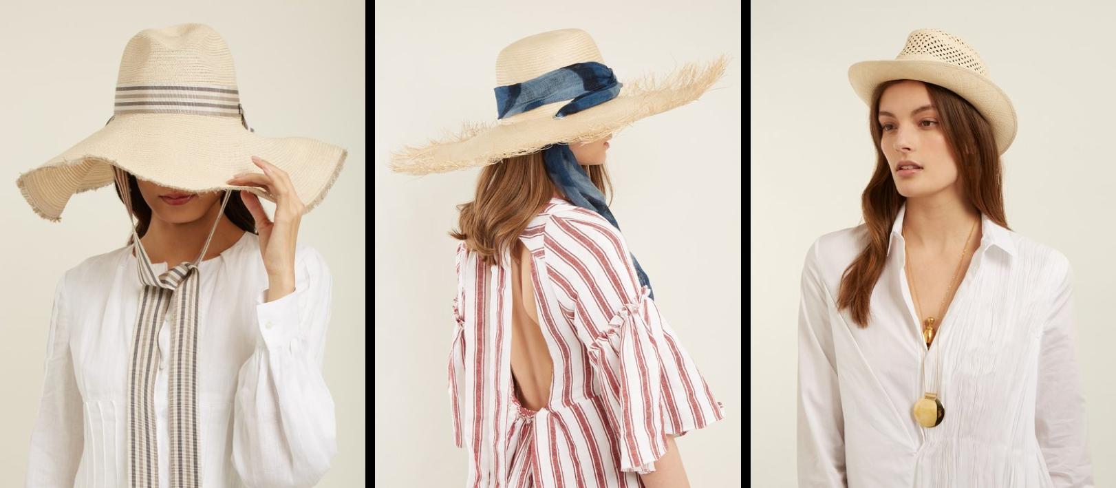 Шляпа как головной убор курортного города