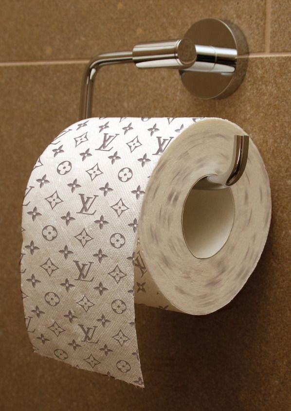 Дизайнерская туалетная бумага