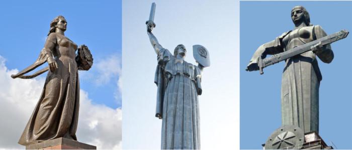 Советские монументальные скульптуры
